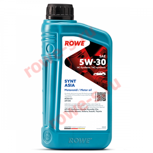HIGHTEC SYNT ASIA SAE 5W-30 NEW 1л