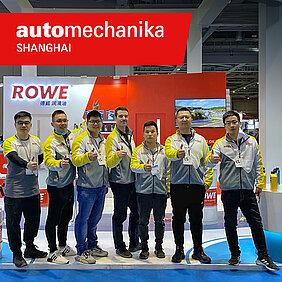 Компания ROWE на международной выставке Automechanika Shanghai.